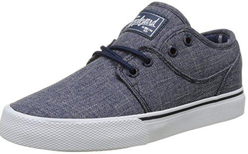 Globe Mahalo, Zapatillas de Skateboarding Para Niños Azul (Navy Chambray)
