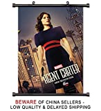 Marvels Agent Carter TV Show Fabric Wall Scroll Poster (32x48) inches