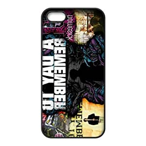 Customize Famous Rock Band A Day To Remember Back Case for iphone5 5S JN5S-2217