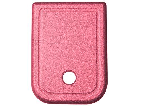 Plain Floor Base Plate Pink for Glock 17 19 23 26 all 9mm .357 .40 .45GAP