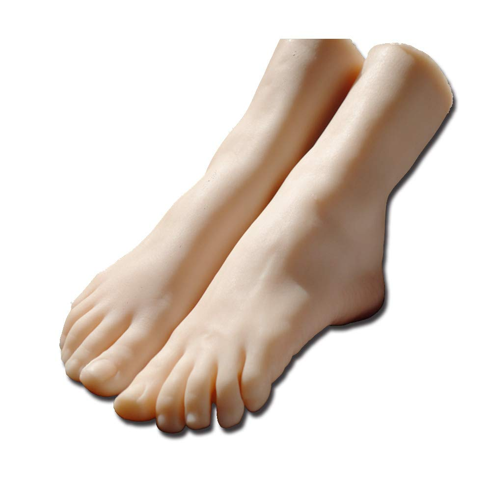 Simulation Girls Ballerina Dancer Gymnast Foot Silicone Feet Model Mannequin