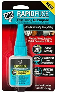 Dap 00156 0.85 Oz Rapid Fuse Fast Curing Wood Adhesive Adhesives, Sealants & Tapes