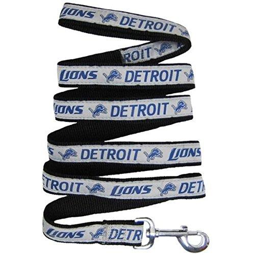 Detroit Lions Pet Leash by Pets First - Large