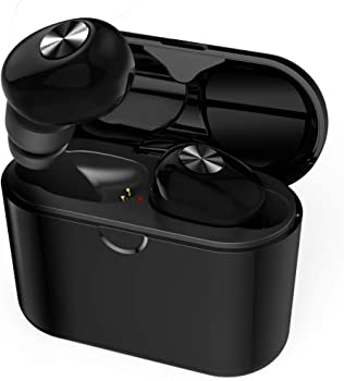 DR.VIVA True Bluetooth 5.0 In-Ear Sport Earbuds with Charging Case