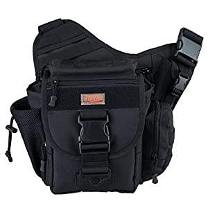 Amazon.com : Piscifun Fishing Tackle Bags Single Shoulder Bags ...