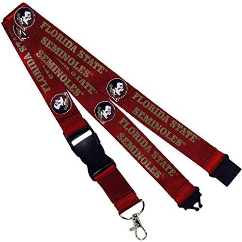 - Jenkins Enterprises Florida State Seminoles Keychain/Badge Holder Lanyard