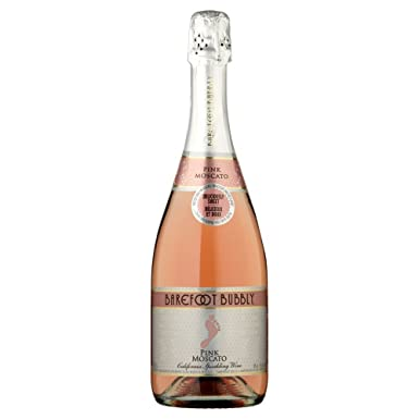 Barefoot Bubbly Pink Moscato Sparkling Wine 75cl Bottle