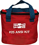 Product review for Pac-Kit by First Aid Only 7082 91 Piece 25 Person ANSI Compliant First Aid Kit in Fabric Pouch