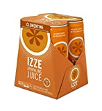 #8: IZZE Fortified Sparkling Juice, Clementine, 4 Count, 8.4 oz Cans