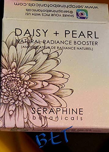 Daisy + Pearl Natural Radiance Booster Seraphine Botanicals (100% Vegan)