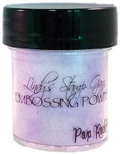 Neww Lindy's Stamp Gang 2-Tone Embossing Powder .5oz Jars-Pop Rock Purple Neww