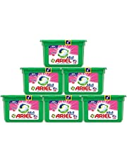 Ariel All in1 PODS, Washing Liquid Capsules With Touch Of Freshness Downy, 6 x 15 Count