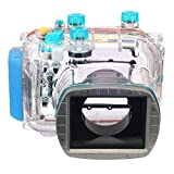 EACHSHOT Waterproof Housing Case 40M 130ft For Canon G11 G12 Replacement for WP-DC34