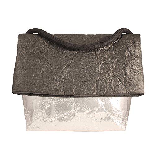 Ziza Style Habits - Bolso de asas para mujer Black/Silver