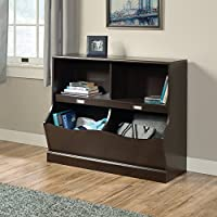 Sauder Storybook Bookcase, Jamocha Wood Finish