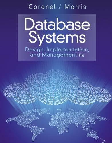 Database Systems: Design, Implementation, & Management (Service Level Implementation)