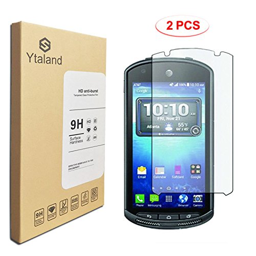 [2 Pack] Kyocera DuraForce E6560 Screen Protector 4.5 Inch, Tempered Glass Anti-fingerprints Thin 9H Screen Hardness Screen Protector For Kyocera DuraForce E6560