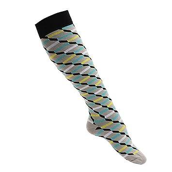 GKKXUE Calcetines de compresión elásticos de los Deportes Medias de la Enfermera Medias (Color :