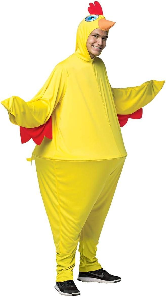 Disfraz de pollo de granja para adulto: Amazon.es: Juguetes y juegos