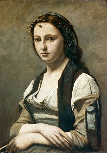 jean-baptiste-camille-corot-woman-with-a-pearl-canvas-art-print-size-24x36-non-canvas-poster-print