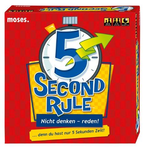 moses. 90126 - 5 Second Rule - Nicht denken, reden