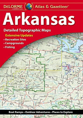 Garmin Atlas & Gazetteer - Arkansas (Delorme Atlas & Gazeteer)