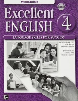 Excellent English 4 Workbook with Audio CD