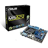 Asus M5A78L-M LX Mainboard SocketAM3+ (mATX AMD 760G/780L, 2x DDR3 Speicher, 4x USB 2.0)