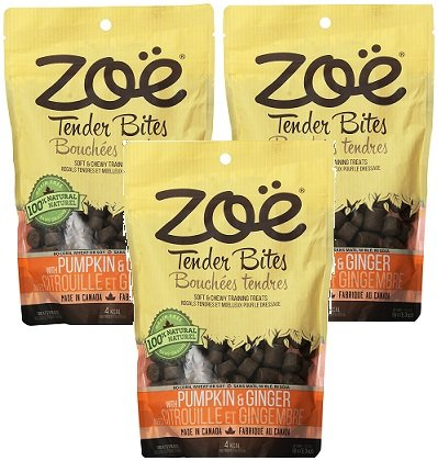 Cheap (3 Pack) Zoe Pumpkin and Ginger Dog Treats – 5.3 Ounces each