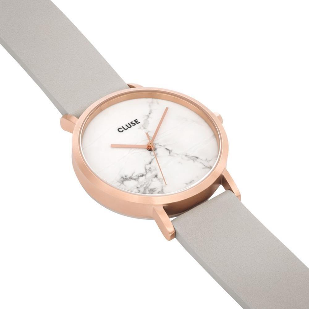 Cluse Reloj Digital de Cuarzo Unisex con Correa de Cuero - CL40103: Cluse: Amazon.es: Relojes