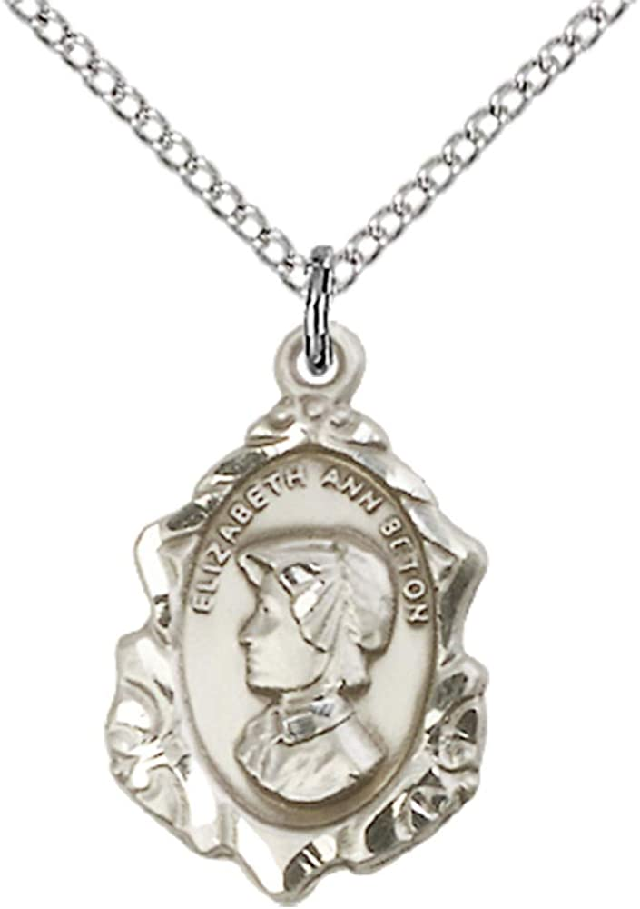 Ann Pendant Sterling Silver St 18 Chain