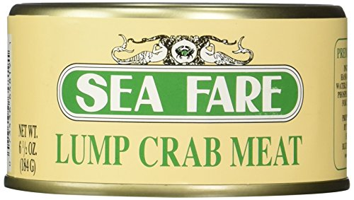 Sea Fare Lump Crab Meat, 6.5 Ounce - Chunks Crab