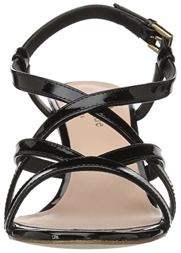 Sandal Kate New Wedge York Women Black Spade Rockaway wCU76