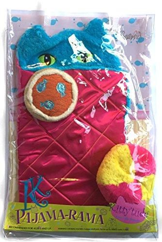 Kitty'tude Cats With Attitude Pajama-Rama Sleeping Bag Set