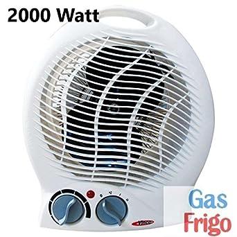 Calentador de baño termoventilador, estufa eléctrica, 2000 W, 2 secciones, calefactables: Amazon.es: Industria, empresas y ciencia