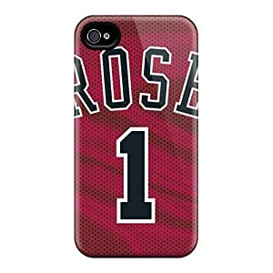 Premium XNJdBTD5677bqTVs Case With Scratch-resistant/ Chicago Bulls Case Cover For Iphone 4/4s