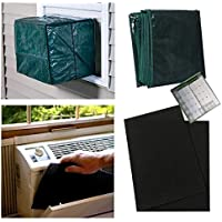 Heavy Duty Window A/C Reusable Cover 2 Replacement Filters 2 Year Pocket Calendar