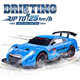 RC Car Electric Racing Drift Car 1/14 2.4Ghz Radio Remote 25Km/h Controlled RTR Truck For Kids Adults Gifts 4WD High Speed Racer Car with 7.4V Battery and One Extra Rechangeble Car Shell
