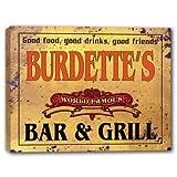 BURDETTE'S World Famous Bar & Grill Canvas Print 16