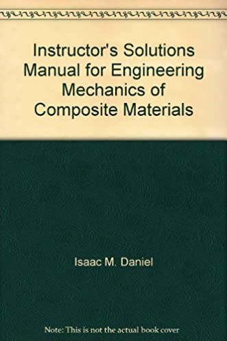 buy instructor s solutions manual for engineering mechanics of rh amazon in Stratton Composite Solutions Composite Solutions Utah
