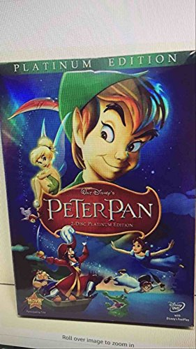 Peter Pan DVD 2007 2-Disc Platinum Edition