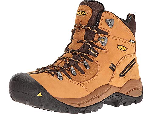 KEEN Utility Men's Pittsburgh 6'' Steel Toe Waterproof Work Boot by KEEN Utility