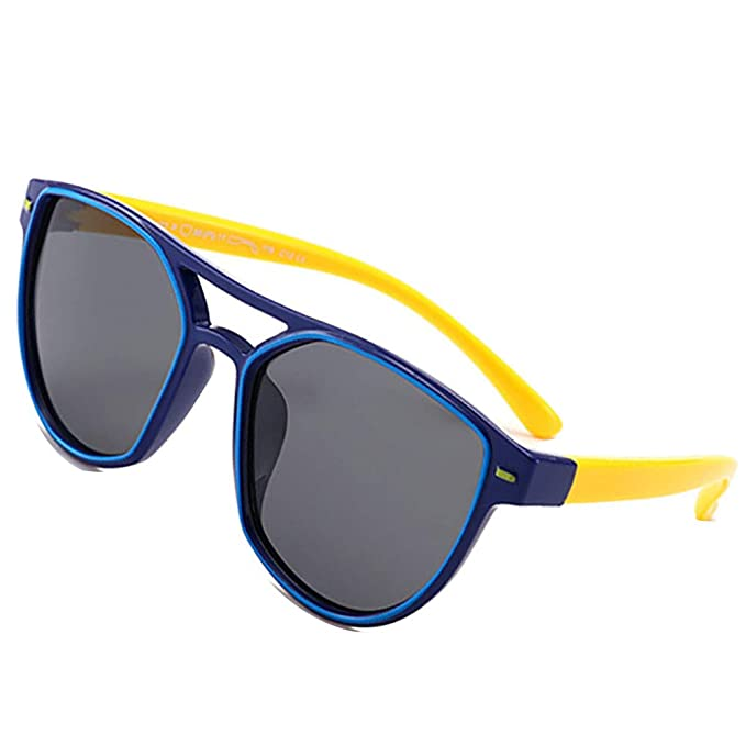 Amazon.com: Gafas de sol polarizadas de silicona para niños ...