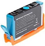 AmazonBasics Remanufactured Ink Cartridge Replacement for HP 364 (Cyan)