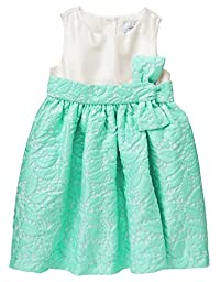 Gymboree Baby Toddler Girls\' Lace Dress Bow, Mint Ice Cream, 12-18 Months