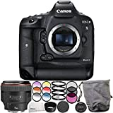 Canon EOS-1D X Mark II DSLR Camera with EF 85mm f/1.2L II USM Lens 6PC Accessory Bundle – Includes 3PC Filter Kit (UV + CPL + FLD) + MORE - International Version (No Warranty)