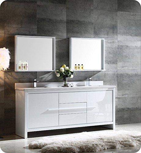 Fresca Bath FVN8172WH Allier 72
