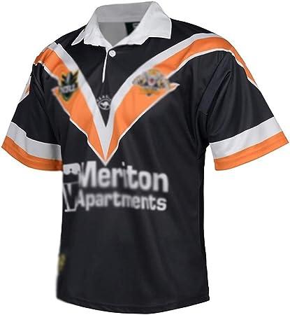 HYQ 1998 Tigres Occidental, Camiseta de Manga Corta RUJER DE ...