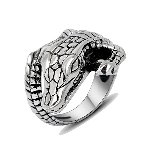 crocodile ring - 6