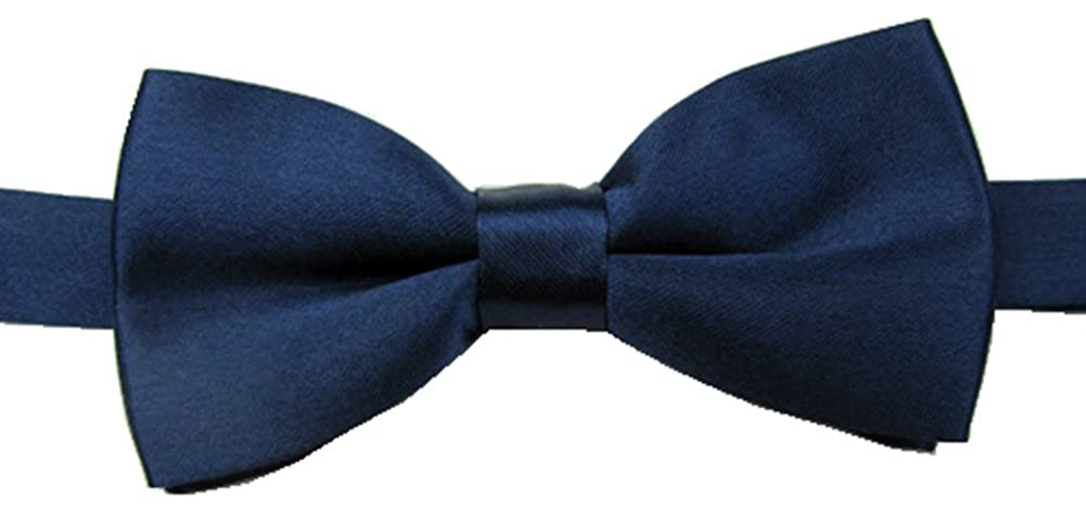 Adjustable Boys Bow Tie Solid Pre Tied for Wedding Party Dress up G00001007